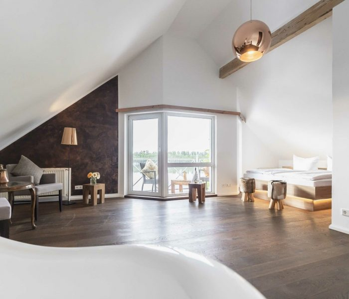Seelodge Kremmen Hotel Am Wasser Kupfer Suite Tumby